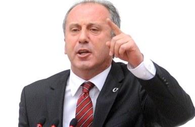 Muharrem İnce grup başkanvekilliğinden istifa ederek, genel başkanlığa aday olacağını açıkladı