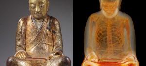 1000 Yıllık Mumyalanmış Buda Heykeli Bulundu
