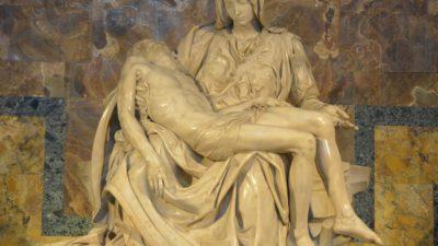 Pieta Heykeli; Acının ve Merhametin Tasviri