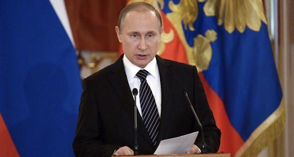 RUSSIA PUTIN SYRIA AWARDS