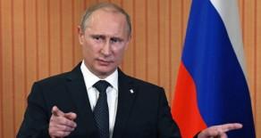 Putin Ekonomik Krizden Batıyı Sorumlu Tuttu