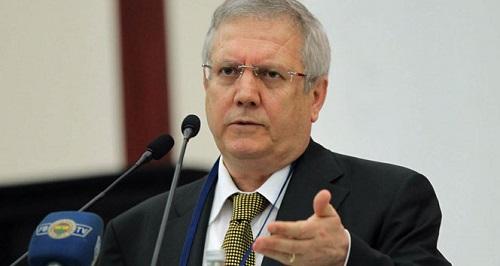 Fenerbahçe Spor Kulübü Başkanı Aziz Yıldırım (Fotoğraf: İHA)