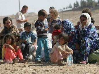 IŞİD Teröründen Kaçan Suriyelilere Kapı Açıldı
