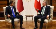 Erdoğan Ve Katar Emiri Sani Körfez Krizini Konuştu