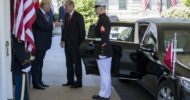 Trump, Erdoğan'ı Beyaz Saray'da Böyle Karşıladı
