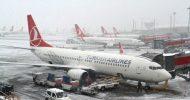 Atatürk Havalimanı'nda Uçuşlara 'Kar' Önlemi