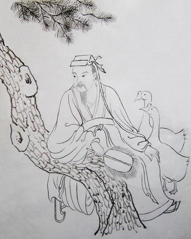 Wang Xizhi, hat sanatının piri (İllüsstrasyon: Jade / Epoch Times)