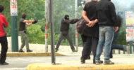 Yunanistan'da Genel Grevde Çatışmalar Yaşandı