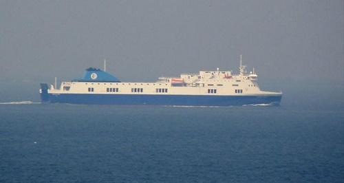 Yanan Feribotun 54 Türk yolcusu olduğu ifade edildi (İHA)